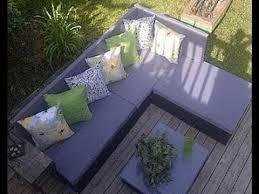 wie man eine palette sofa für den garten bauen youtube