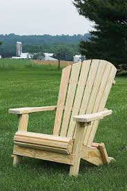 Adirondack Bench Pine Folding Adirondack Chair