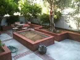 raised garden brick