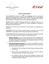 atp flight republic airways airline pilot hiring partnership