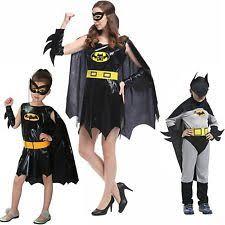 Batgirl Halloween Costumes Batgirl Fancy Dress Ebay