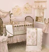 Shabby Chic Crib Bumper by Shabby Chic Baby Bedding French Country Crib Bedding