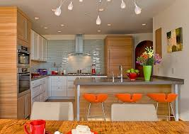 modern orange bar stools 10 trendy bar and counter stools to complete your modern kitchen
