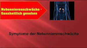 ernährung bei nebennierenschwäche symptome der nebennierenschwäche ganzmedizin naturheilpraxis