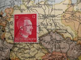Germany Ww2 Map by Stamp On Vintage Map Germany In World War Ii Stock Photo Picture