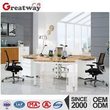 bureau en open space bureau open space model curved office desk wooden furniture