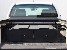 nissan navara 2008 interior nissan navara d40 dc drawer kit by front runner drawers storage