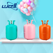 disposable helium tank steel helium canister filling 5 kg helium gas cylinder for