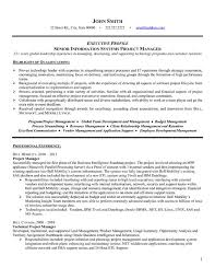 resume cover letter samples for project manager throughout 21
