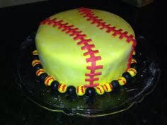 softball cake cake pinterest softball and cakes