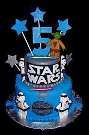 wars cakes 2 tier wars theme birthday cake with yoda and stormtrooper