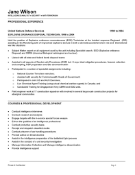 ba sample resume military analyst sample resume professional