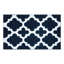 Ombre Bath Rug Buy Blue And White Bathroom Rugs From Bed Bath U0026 Beyond