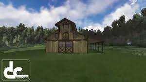 Horse Stable Floor Plans by Monitor Barn 60 U0027 Classic Monitor Horse Barn Floor Plans Dc