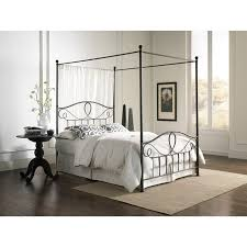 Wrought Iron Canopy Bed Wrought Iron Canopy Bed Frame Strong Metal With