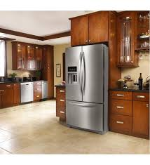 Kitchenaid Counter Depth French Door Refrigerator Stainless Steel - kfis29pbms in monochromatic stainless steel by kitchenaid in