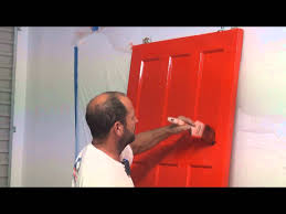 how to paint a panel door how to brush paint an interior paneled