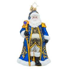 christopher radko ornaments radko midnight majesty santa