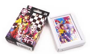 anime no game no life playing card deck poker new in box ebay