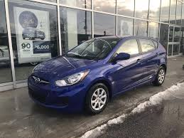 hyundai accent 5 door pre owned 2013 hyundai accent 5dr gl at 5 door hatchback in