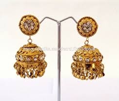 antique gold jhumka earrings antique gold jhumkas thecolorbars