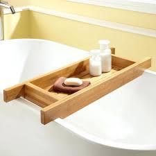 bathtub caddy home depot bathtub bathtub caddies bath factory chrome solid brass teak