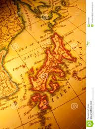 Map Japan Old Map Of Japan Royalty Free Stock Photos Image 25329088