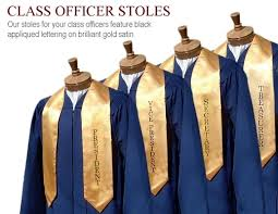 honor stoles honor stoles and honor cords from cap gown