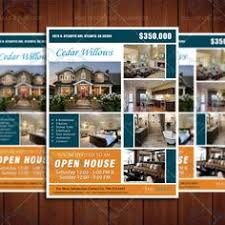design with many pictures and seller info free flyer template by