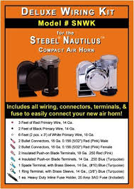 amazon com deluxe wiring kit for stebel nautilus compact air
