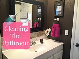How To Clean Your Bathroom by How To Deep Clean Your Bathroom Bathroom Cleaning Tutorial Youtube