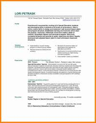 Early Childhood Education Resume Template Free Resume Templates For Teachers Free Resume Template For
