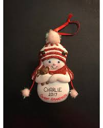 amazing deal on sweet grandson snowman personalized