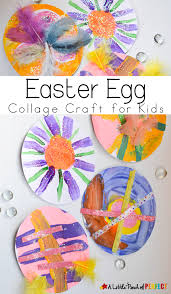 easy easter egg paper collage craft for kids