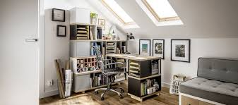 Creative Ideas Home Office Ideas With Modern Swivel Chair And - Creative ideas home office furniture