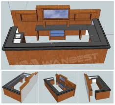 table top design cafe bar counter design circular bar counter from