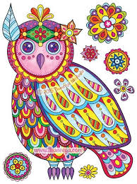 195 Best Coloring Books By Thaneeya Images On Pinterest Coloring Owl Coloring Ideas