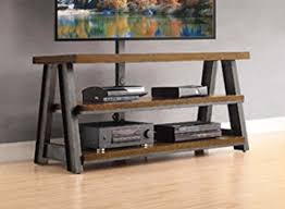 Whalen Furniture Bookcase Amazon Com Whalen Furniture 3 In 1 Brown Tv Stand For Tvs Up To