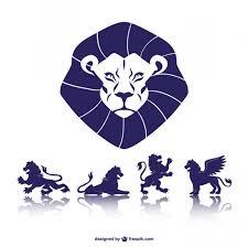 imagenes de leones salvajes gratis símbolos de leones descargar vectores gratis