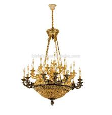 Antique Brass Pendant Light by French Rococo Style Porcelain Flower Chandelier With Antique Brass