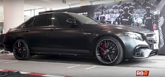 amg owner buys new e63 edition 1 organizes rev battle