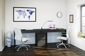 Walnut Computer Desks For Home Best Computer Desks For Two People Deskz Intended Modern House