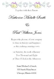 wedding announcement wording exles formal invitation wording ryanbradley co