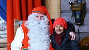 play kid for a day in santa claus village in rovaniemi finland