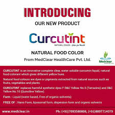 introducing our new product curcutint natural food color for