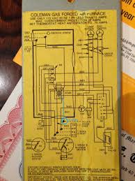 coleman furnace wiring diagram with blueprint pictures 26913