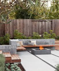 Patio Table With Built In Fire Pit - best 25 concrete fire pits ideas on pinterest contemporary