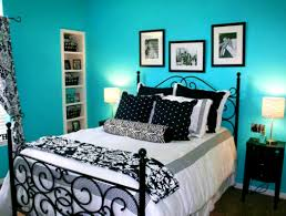 apartments adorable black white and light blue bedroom