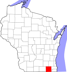 Map Of Lake Geneva Wi File Map Of Wisconsin Highlighting Walworth County Svg Wikimedia