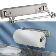 Wall Mounted Paper Roller Oil Rubbed Bronze Paper Towel Holder Under Cabinet Mount Towel